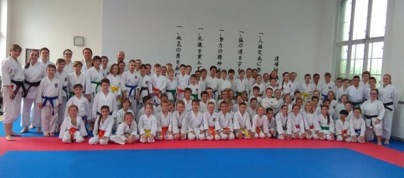 Tento víkend proběhlo soustředění Karate talent ČATK