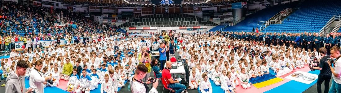 DRFG ARÉNA uplynulý víkend hostovala největší světovou akci tradičního karate v letošním roce