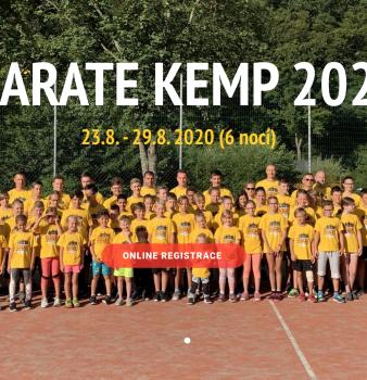 Letní KARATE KEMP 2020